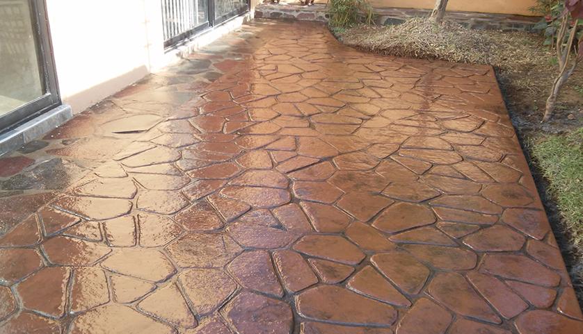 Pintar suelo de cemento exterior free renueva el suelo de - Pintura para pintar piso de cemento ...